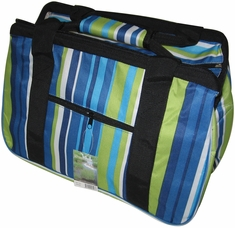 JanetBasket Blue Stripes Eco Bag - Click to enlarge