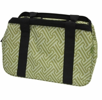 JanetBasket Eco Bag 18inx10inx12in Green T