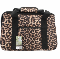 JanetBasket Eco Bag 18inX10inX12in Leopard