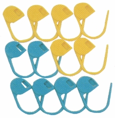 Jumbo Locking Stitch Markers 12/Pkg - Click to enlarge