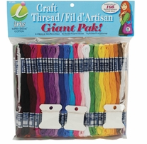 Jumbo Value Pack Cotton Craft Floss 105 Skeins