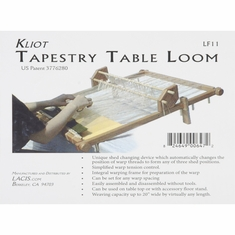 Kliot Tapestry Loom 20in Hard Wood - Click to enlarge