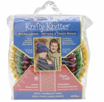 Knifty Knitter Round Loom Set Set Of Four