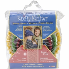 Knifty Knitter Round Loom Set Set Of Four - Click to enlarge