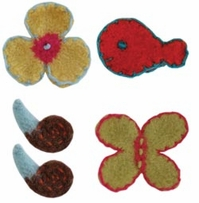 Knit Felting Patterns Toppers Embellishment For Snuglets
