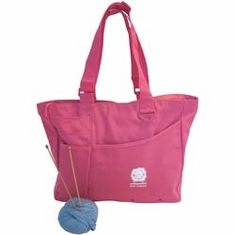 Knit Happy Bright Bags Pink - Click to enlarge