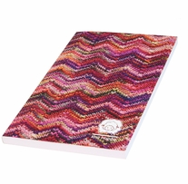 Knit Happy Bright Write Journal Zigzag 5inx8in