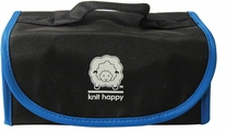 Knit Happy Fold 'n Go Notions Box Black/Blue