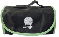 Knit Happy Fold 'n Go Notions Box Black/Green