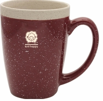 Knit Happy Retreat Mug Brick 16oz