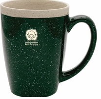 Knit Happy Retreat Mug Green 16oz