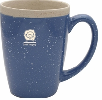 Knit Happy Retreat Mug Light Blue 16oz