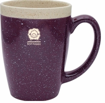 Knit Happy Retreat Mug Purple 16oz