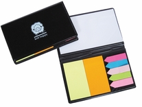 Knit Happy Sticky Note Organizer Black
