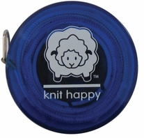 Knit Happy Tape Measure Blue