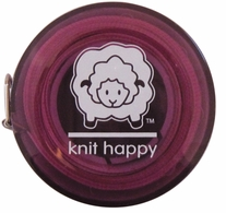 Knit Happy Tape Measure Purple