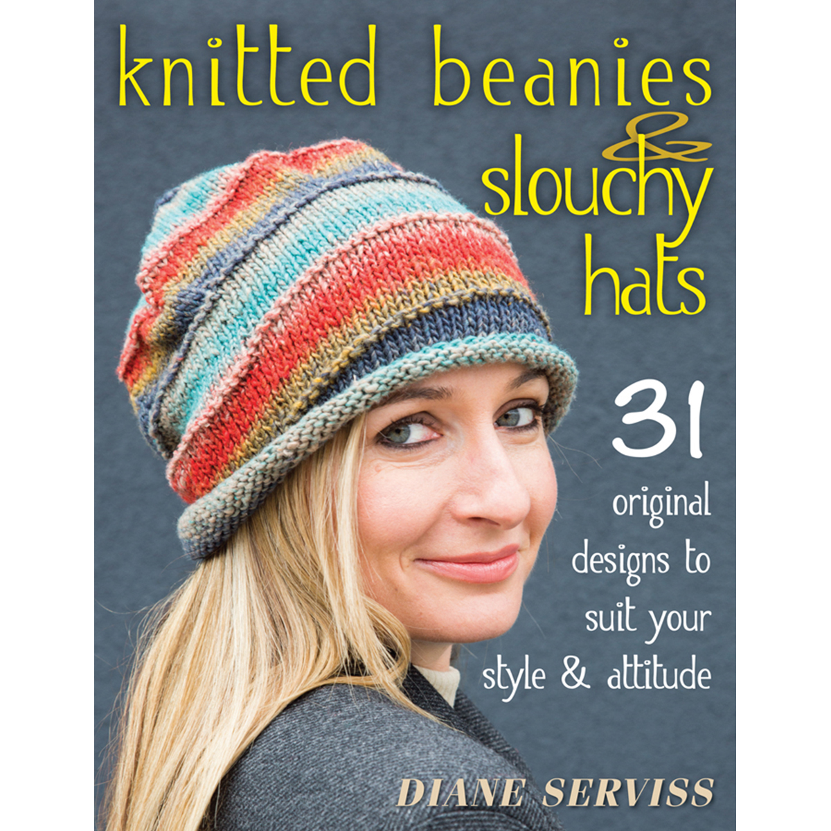 Knitting Pattern Books Hats : Knitted Beanies & Slouchy Hats