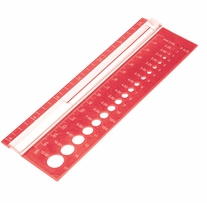 Knitter's Pride Rectangle Needle Gauge