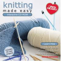 Knitting Made Easy CD-ROM