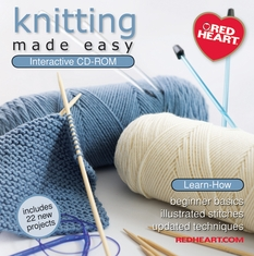 Knitting Made Easy CD-ROM - Click to enlarge