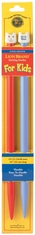 Knitting Needles For Kids 10in Size 15 10mm - Click to enlarge