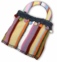 Knitwhits Marit Striped Felted Purse Kit