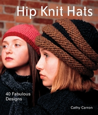 Lark Books Hip Knit Hats-40 Fabulous Designs - Click to enlarge