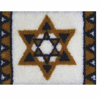 Latch Hook Kit Star Of David 27inx20in