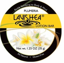 Lavishea Lotion Bar 1.25oz Plumeria