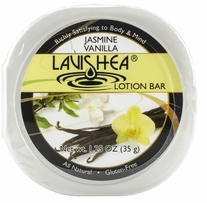Lavishea Lotion Bar 1.35oz Jasmine Vanilla