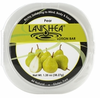 Lavishea Lotion Bar 1.35oz Pear