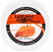 Lavishea Lotion Bar 1.35oz Sweet Cinnamon Pumpkin