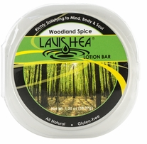 Lavishea Lotion Bar 1.35oz Woodland Spice