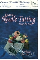 Learn Needle Tatting Step By Step Peggable Book