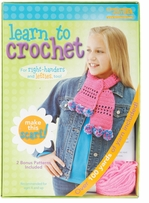 Learn To Crochet Scarf