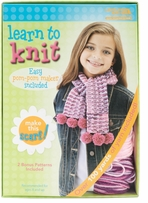 Learn To Knit Scarf