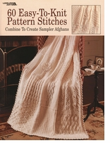 Leisure Arts 60 Easy-To-Knit Pattern Stitches