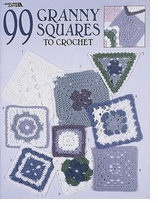 Leisure Arts 99 Granny Squares To Crochet