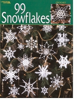 Leisure Arts 99 Snowflakes