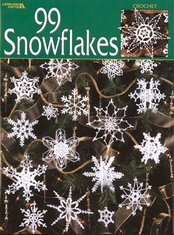 Leisure Arts 99 Snowflakes - Click to enlarge