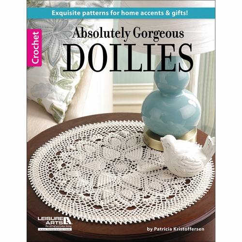 Leisure Arts Knitting Pattern Books : Leisure Arts Absolutely Gorgeous Doilies