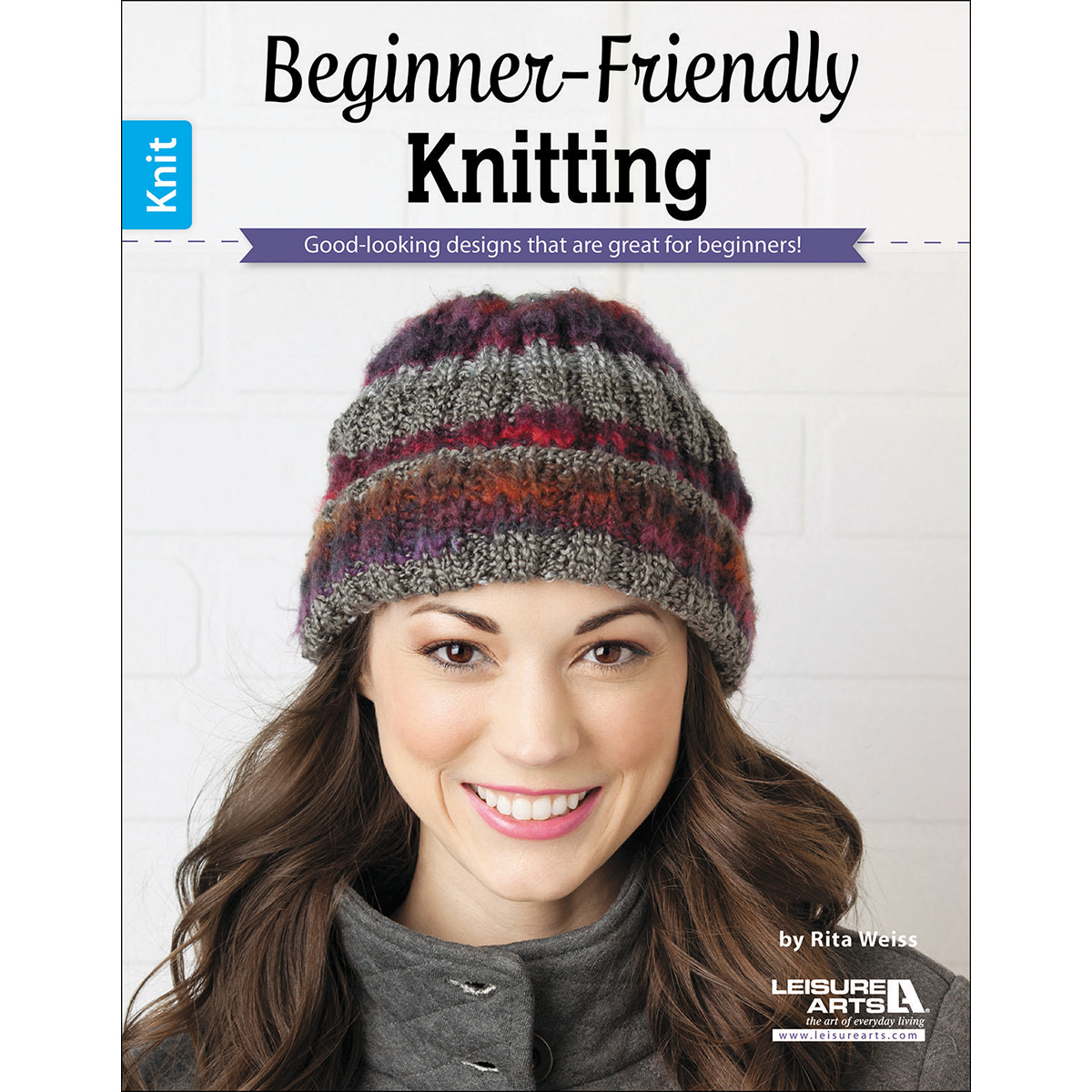 Leisure Arts Knitting Pattern Books : Leisure Arts Beginner Friendly Knitting