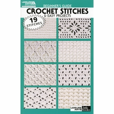 Leisure Arts Beginners Guide Crochet Stitches - Click to enlarge
