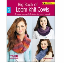 Leisure Arts Big Book Of Loom Knit Cowls