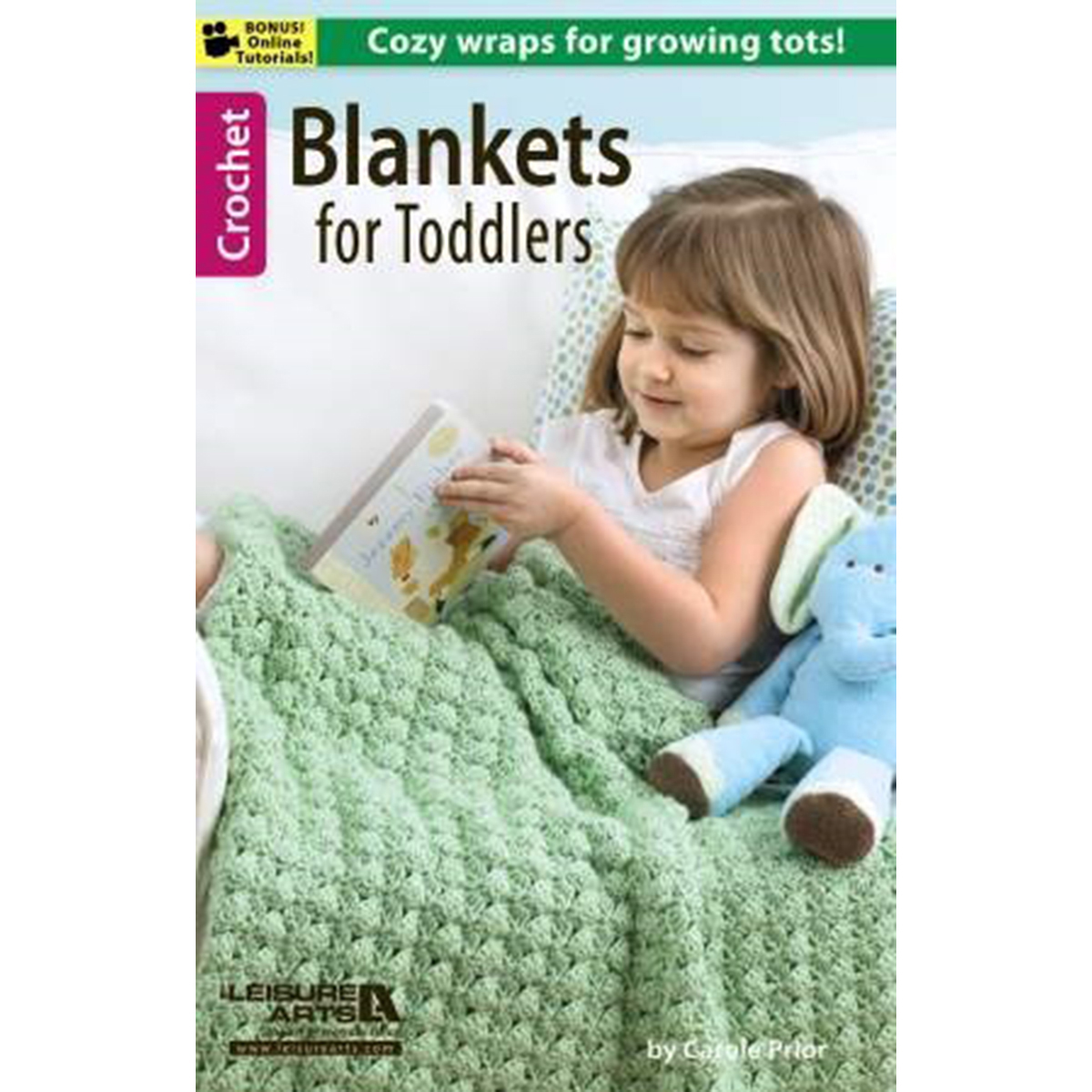Knitting Pattern Books For Toddlers : Leisure Arts Blankets For Toddlers