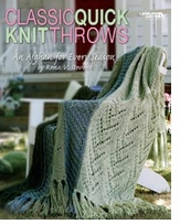Leisure Arts Classic Quick Knit Throws