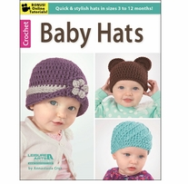 Leisure Arts Crochet Baby Hats