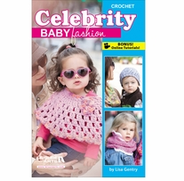 Leisure Arts Crochet Celebrity Baby Fashions