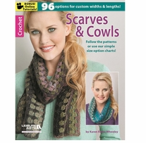 Leisure Arts Crochet Scarves & Cowls