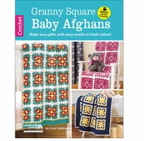 Leisure Arts Granny Square Baby Afghans